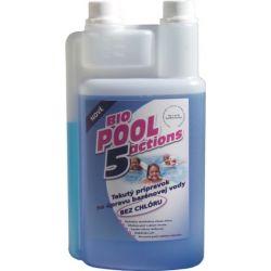 BioPool 5 líquido sin cloro para el tratamiento del agua de la piscina