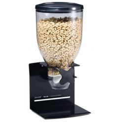 Zevro Pro100 Pro Single Dry Food Dispenser - Black