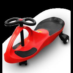 RIRICAR Rojo - Correpasillos giratorio con las ruedas súper silenciosas de poliuretano