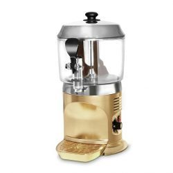 Máquina de chocolate caliente CF ProEdition, dispensador de chocolate de encimera, capacidad 5 litros - Oro